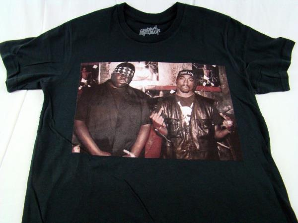 2pac and biggie t shirt