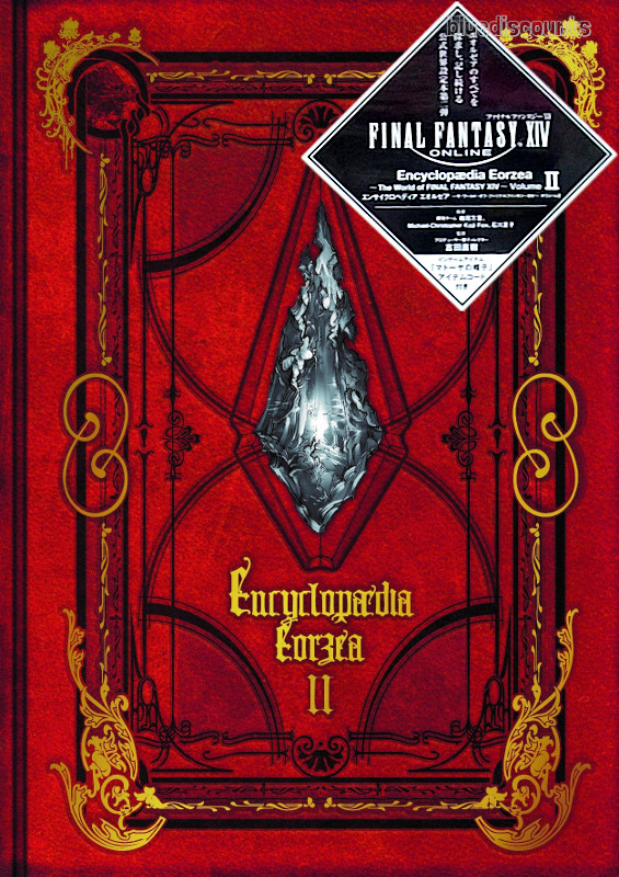 Details about DHL Encyclopaedia Eorzea The World of FINAL FANTASY XIV  Volume II 2 Book+CODE JP