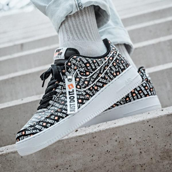 online store e6745 f72a1 Nike Air Force 1 LV8 JDI Sneakers Black Size 8 9 10 11 12 Mens Shoes New