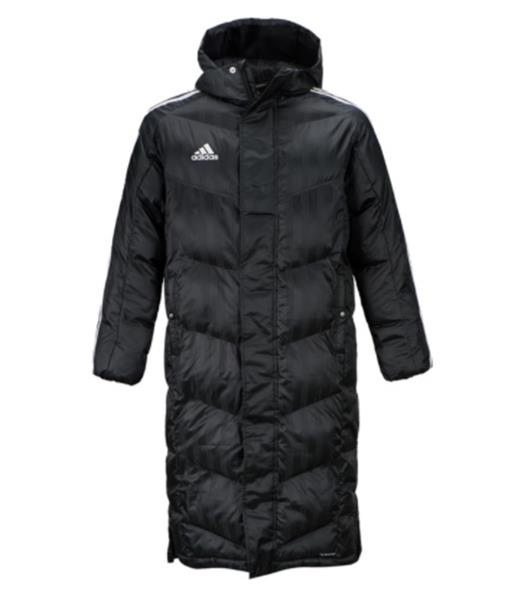 Adidas Men 2017 18 Shadow Long Padded Jacket Winter Black Parka Coat