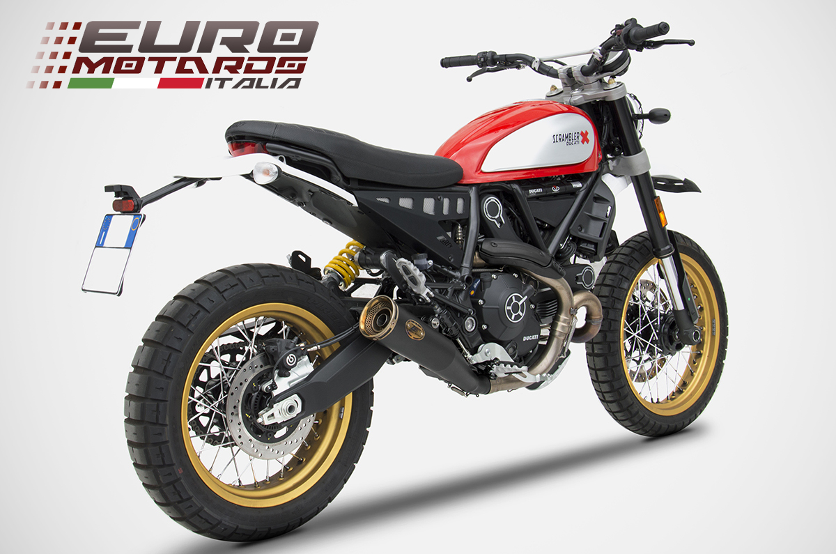ducati scrambler desert sled zard exhaust zuma slipon. Black Bedroom Furniture Sets. Home Design Ideas