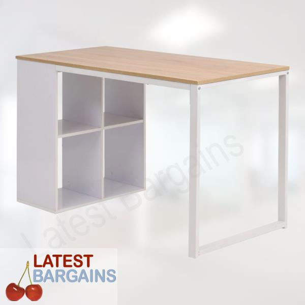 Office Computer Desk Work Table Study Student Storage Cubes