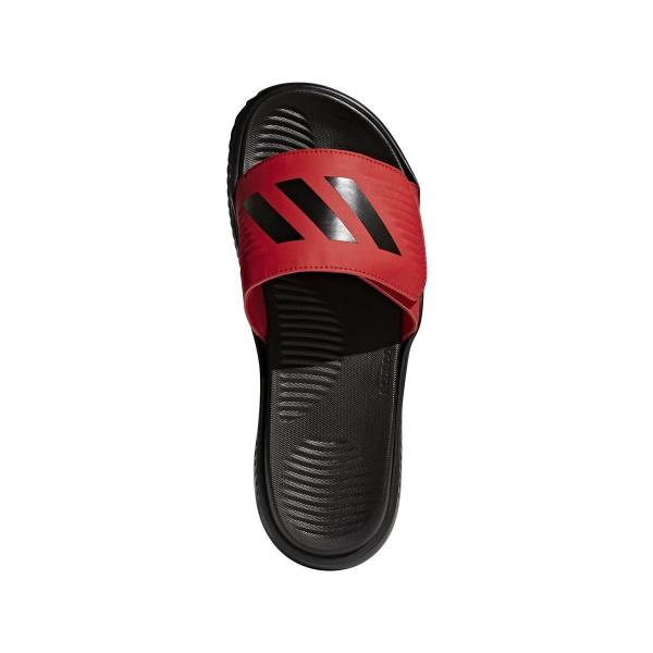 ... Adidas Alphabounce Slide - Black Red Sandal. Style  CP9868 Color   Scarle b1267dda3
