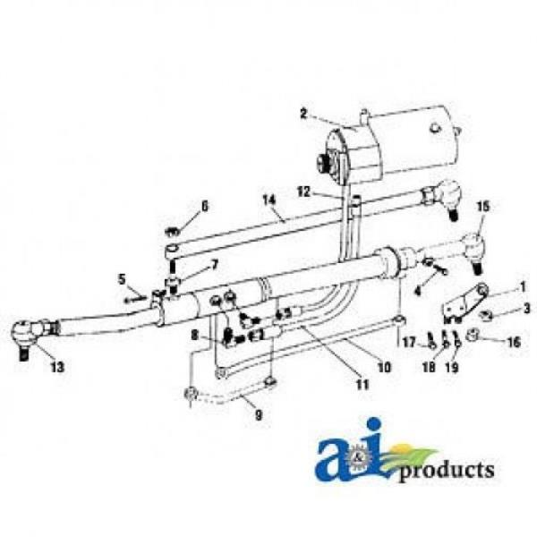 Massey Ferguson Power steering Conversion Kit VPJ4051 135