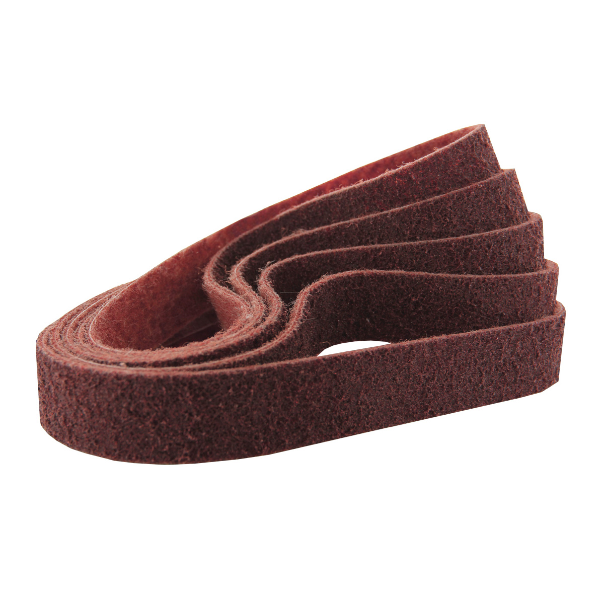 """Coarse 4/"""" x 36/"""" Inch Surface Conditioning Non Woven Sanding Belts Tan 5 PACK"""