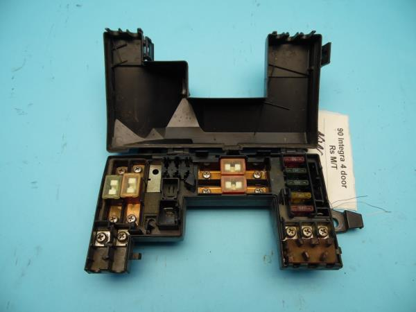 90 93 acura integra oem under hood fuse box with fuses \