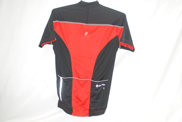 Hincapie SS Potenza Cycling Jersey Fire Men s Medium Road Bike Red Black NEW 4f8bc7143