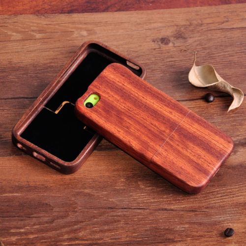 Details About Genuine Wooden Case Wood Cover Shell Housing For Iphone 5s 6 6s 7 7 Plus
