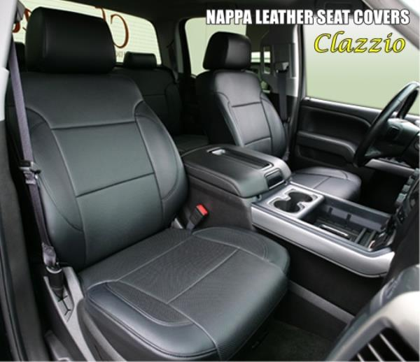 Toyota Tundra Seat Covers >> Details About 2014 2019 Toyota Tundra Crewmax Clazzio Nappa Leather Custom Seat Covers