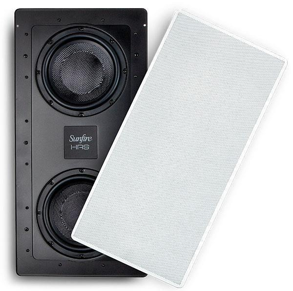 Details about Sunfire HRSIW8CAB In-Wall Subwoofer-dual active 8
