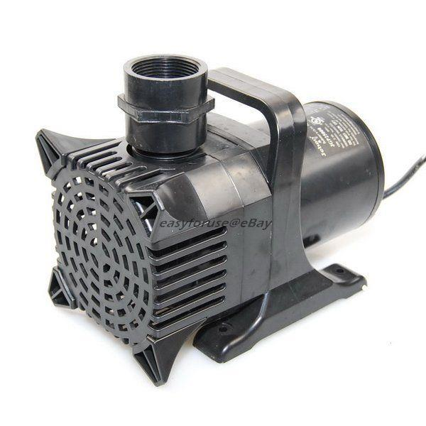 6750gph Submersible Pond Waterfall Fountain Pump 33ft Cord