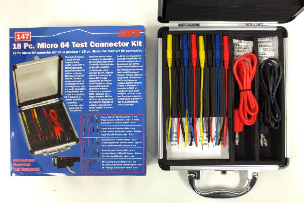 New 18 Piece Micro 64 Test Connector Kit 147 by Electronic