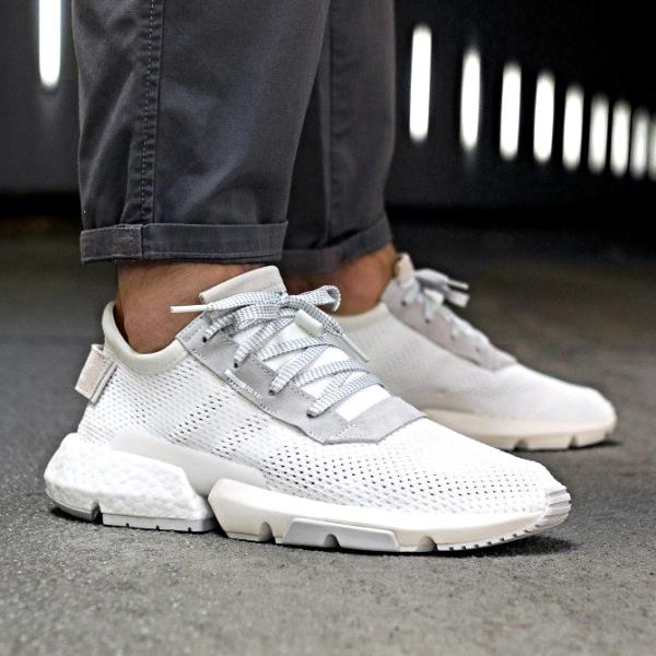 sports shoes bb1e4 defa9 Adidas Pod S3.1 Sneakers Total White Size 8 9 10 11 12 Mens NMD Boost Y-3  Ultra