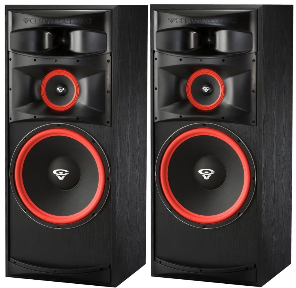 Details about PAIR Cerwin Vega XLS-15 Tower Speakers 15