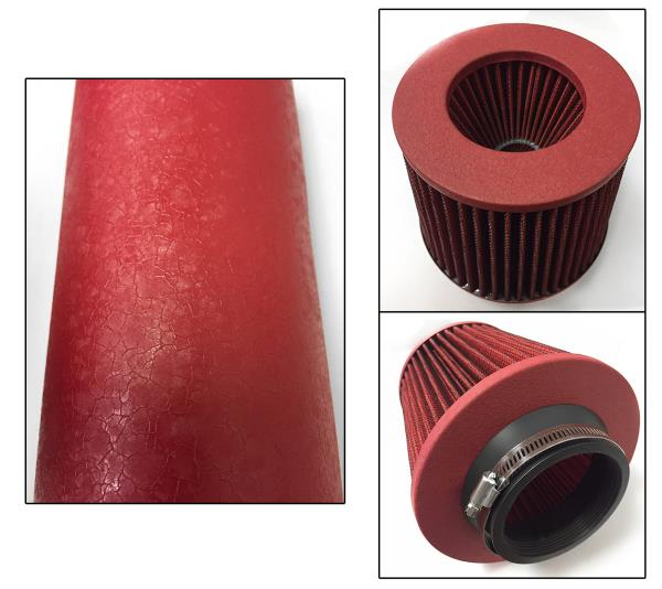 Coated Red For 2PC 2004-2008 Acura TL 3.2L V6 Base Cold