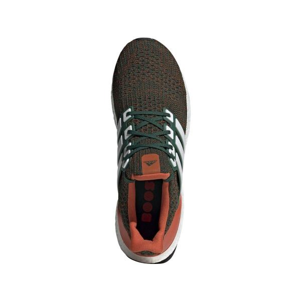 lowest price 80a8e f009c EE3702 Mens Adidas UltraBOOST - Miami Hurricanes Ultra Boost
