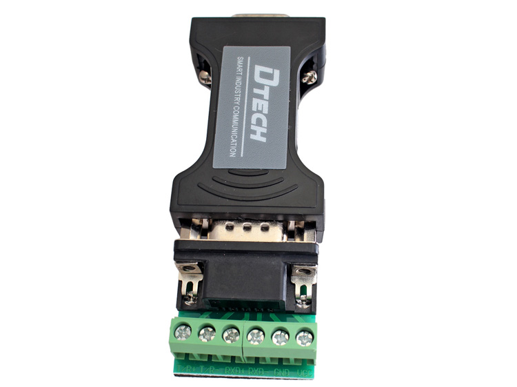 Dtech rs232 to rs485 rs422 serial adapter converter 9 pin data this non isolated serial converter allows you to detect rs 232 signal and automatically select rs 485 or rs 422 balanced differential signal sciox Images