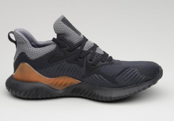 fc52cacead8ac Adidas Men Alpha Bounce Beyond Training Shoes Running Black Sneakers ...