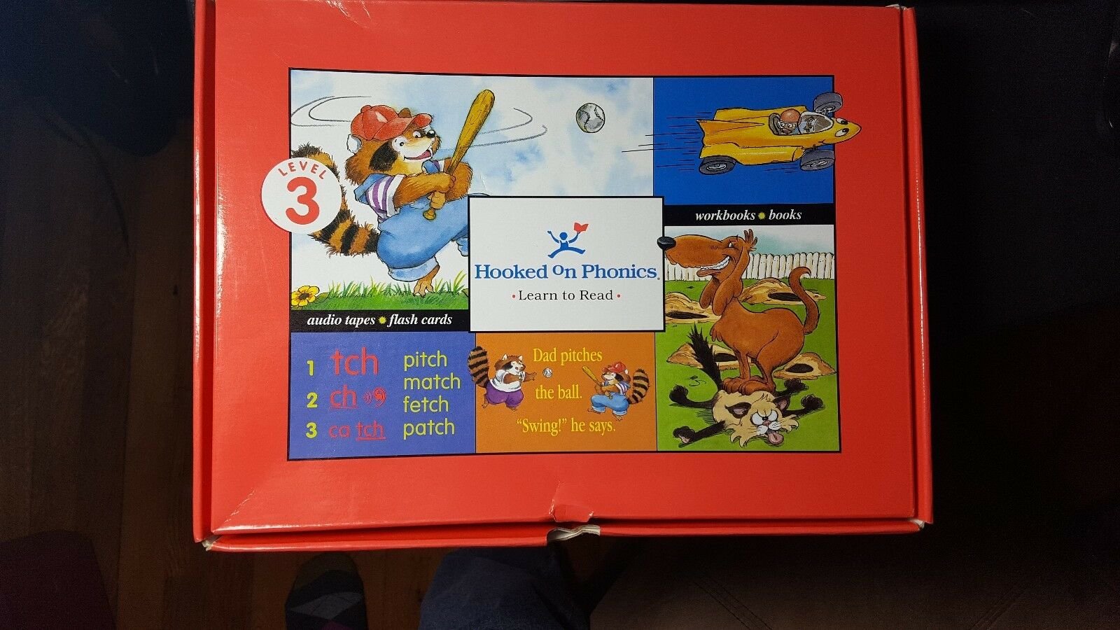 Details about Red Reading & Workbook Set Books Tapes Flash Cards Level 3 New