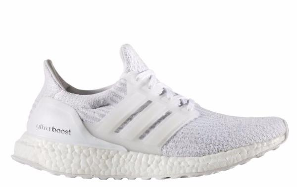 8f2e1e212608c1 ... BA7686 Womens ADIDAS Ultraboost 3.0- Triple White Ultra Boost Sneaker  ...