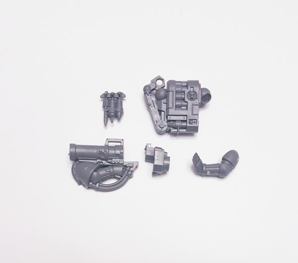 Warhammer 40k Space Marine Scout Missile Launcher Bits Box