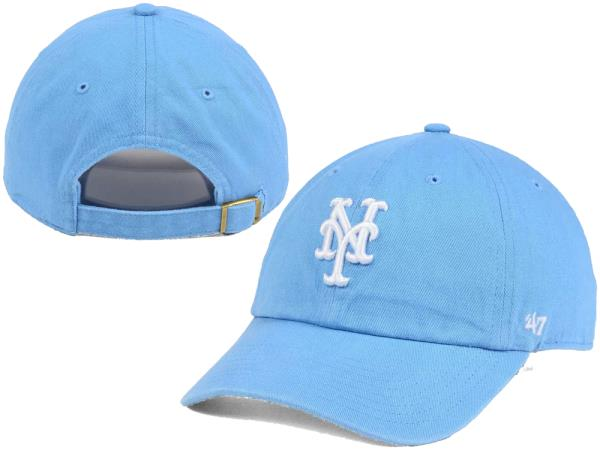 good selling look good shoes sale dirt cheap New York Mets '47 MLB Women's Powder Blue/White '47 CLEAN UP Cap ...