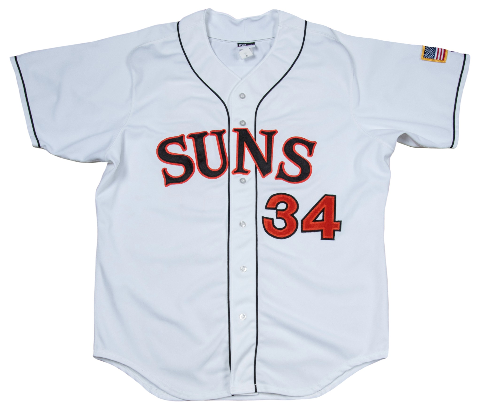 de91ff304 2011 Bryce Harper Rookie Game Used Washington Nationals Minor League Suns  Jersey