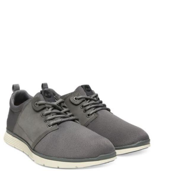 Details zu Timberland A1Y18 Mens Killington Oxford Sneakers Dark Grey Leather Size