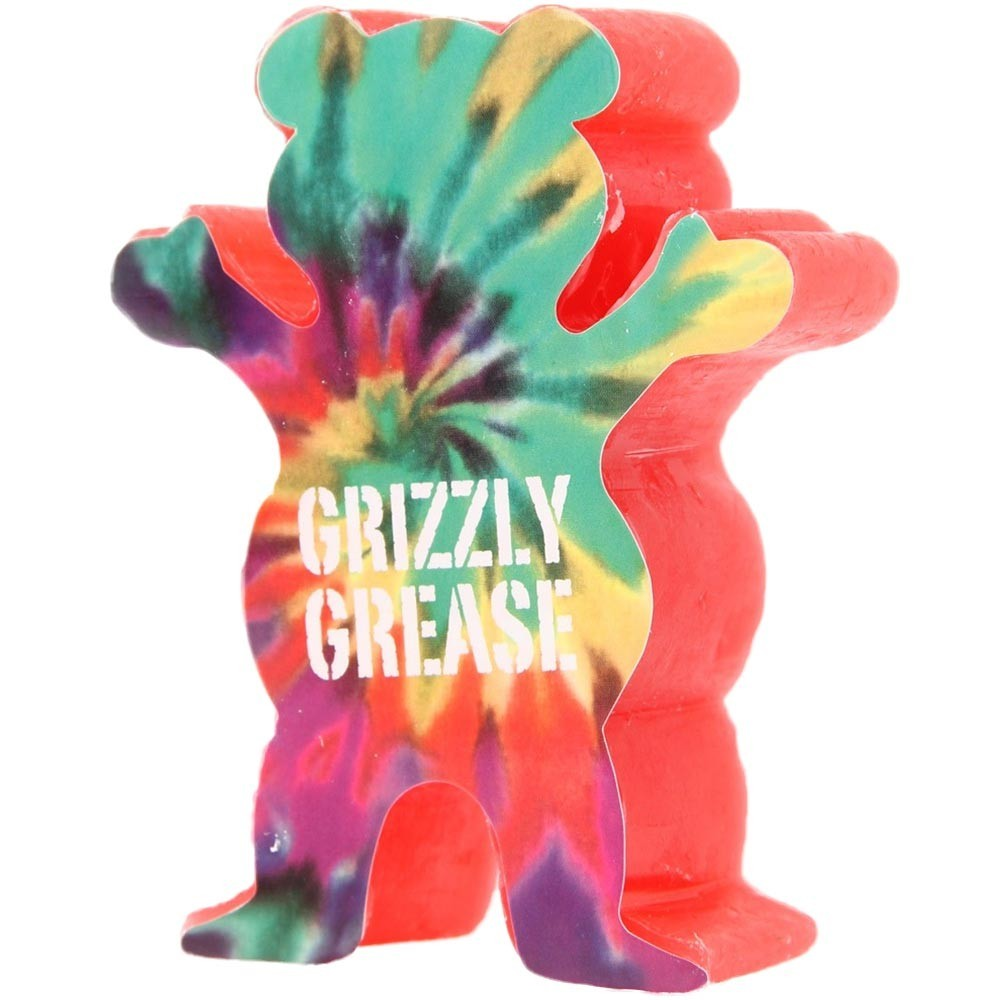 Grizzly Grease Wax Red Grizzly Grip Skateboard Curb Wax FREE POST