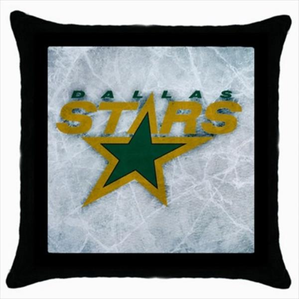 Dallas Stars Throw Pillow Case Nhl Hockey Ebay