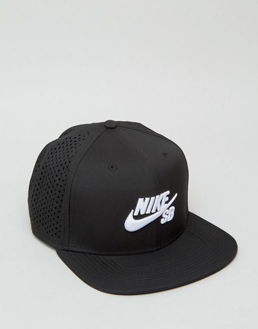 Nike SB Cap Performance Trucker Black New Skateboard Snapback Hat FREE POST