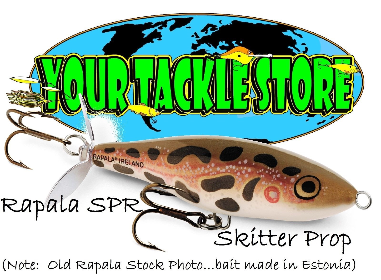 Rapala Skitter Prop SPR07 alle Farben