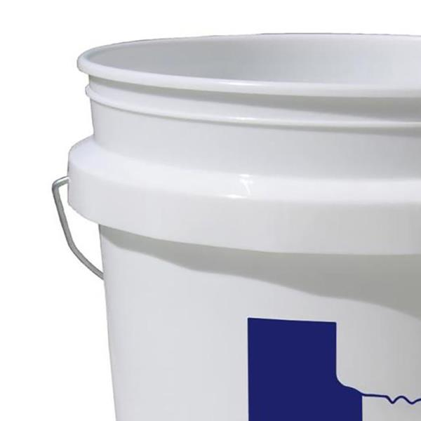 Commercial Food Grade Bucket 5 Gal All Purpose Texas Star Paint