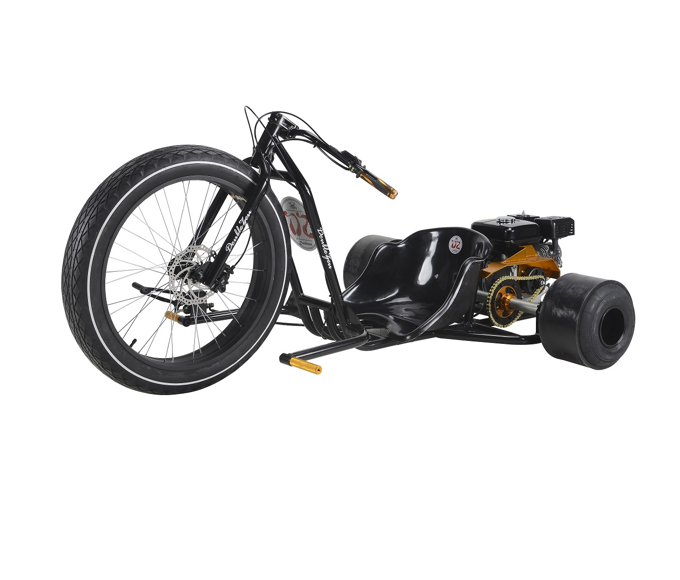 Huffy Slider Drift Trike Go Kart Adult Frame 38mm Steel Rolling ...