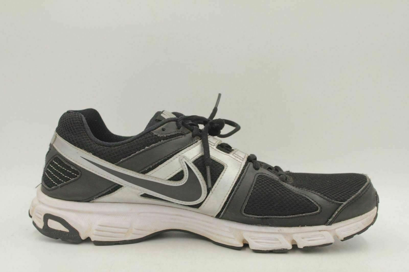 09f0c1ce93c03 NIKE Downshifter 5 Men Athletic Running Shoes Size 12 Black 538257 ...