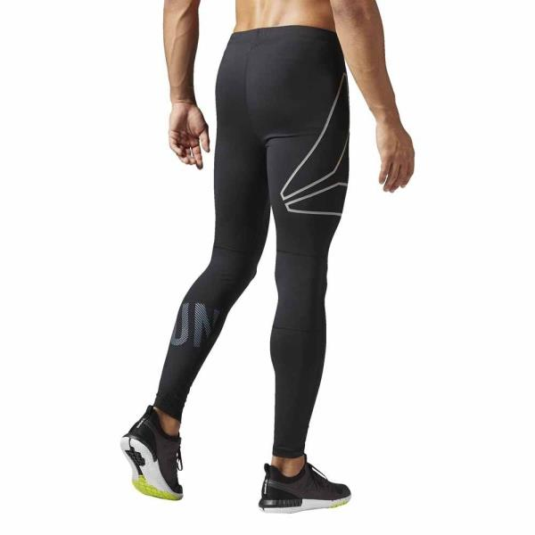 d5e9627b23 Details about Reebok One Series Running Tight Pants training Black Men´s-  SIZE (M)- NEW