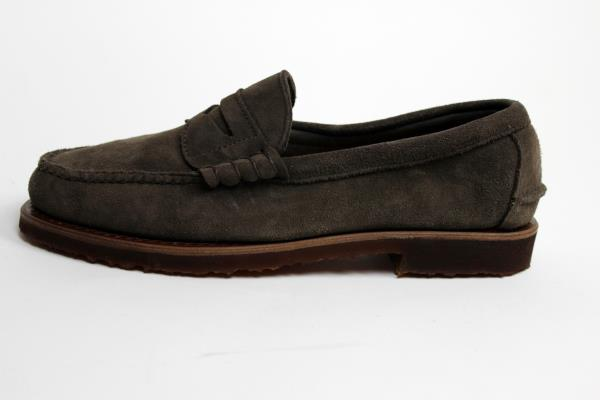 9a17d14ea80 ... Beefroll Penny Loafer Flint Kudu Suede -8D-MSRP  345. Up for sale are a  gorgeous pair of brand new special make up Rancourt loafers.