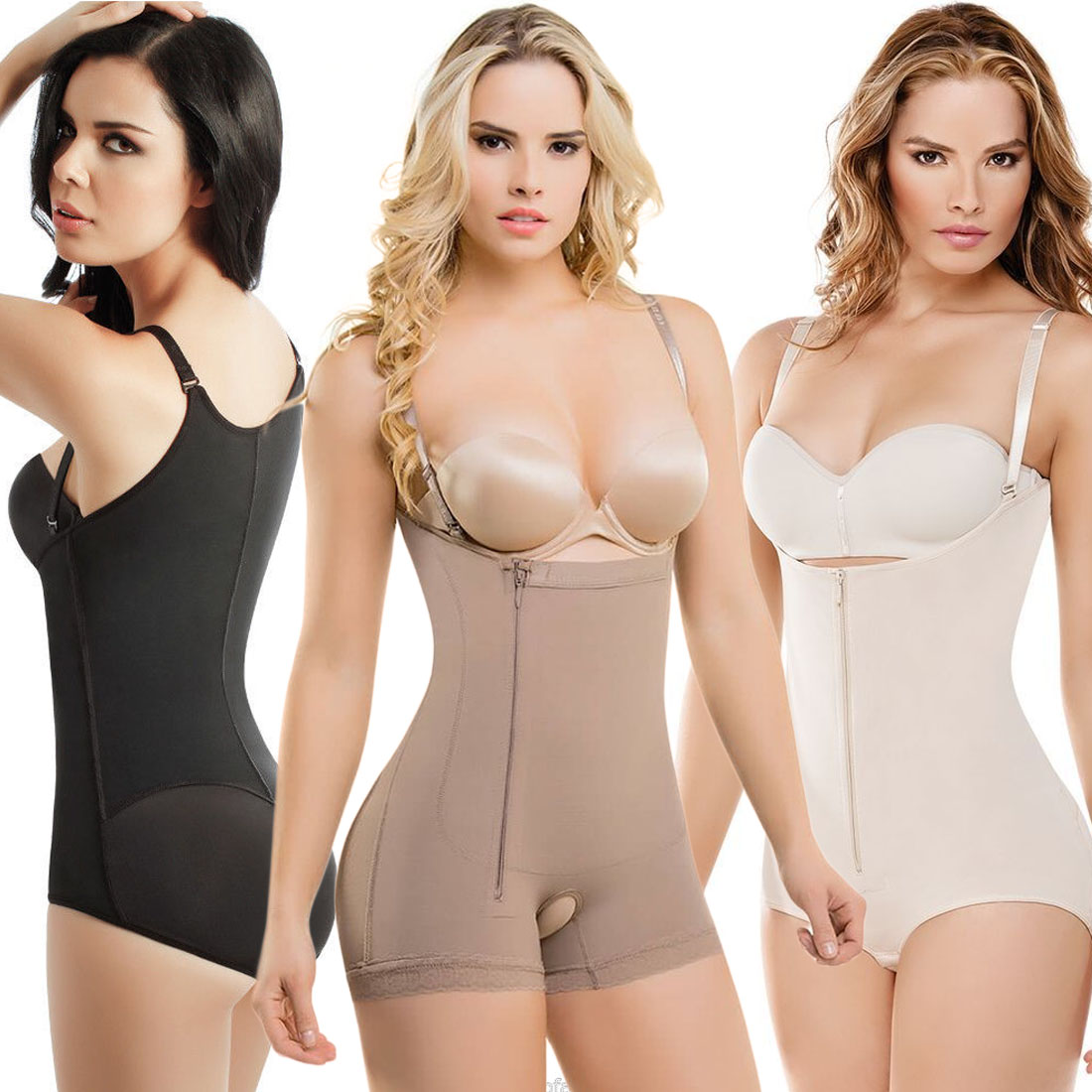 b8b093c127cfa Full Body Shaper Fajate Post Surgery Liposuction Garment Underwear Boxer  Cysm