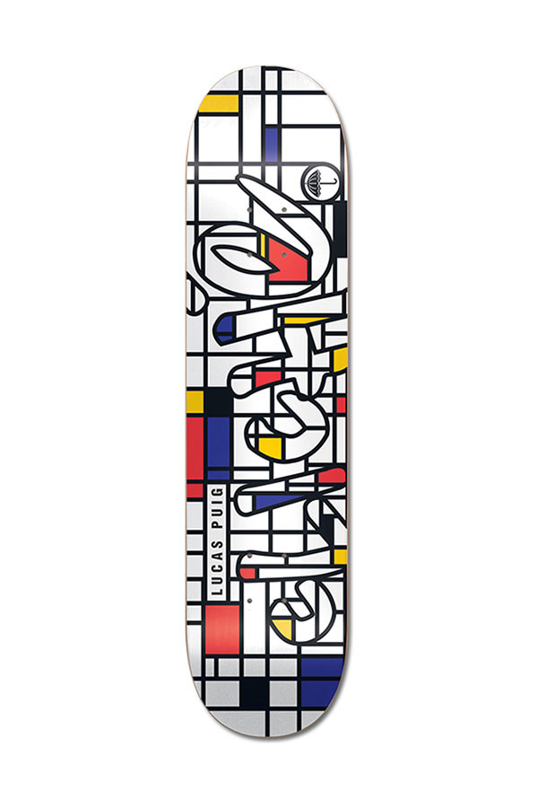 Cliche Skateboard Deck Lucas Puig Musee 8.25 R7 FREE POST and GRIP New Cliché