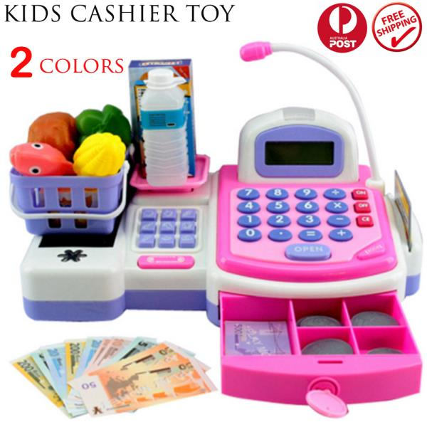Machine Toys For Girls : Kids toys simulation cash register pretend shopping