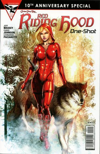 10th Anniversary Zenescope Grimm Fairy Tales Red Riding Hood One-Shot C cover
