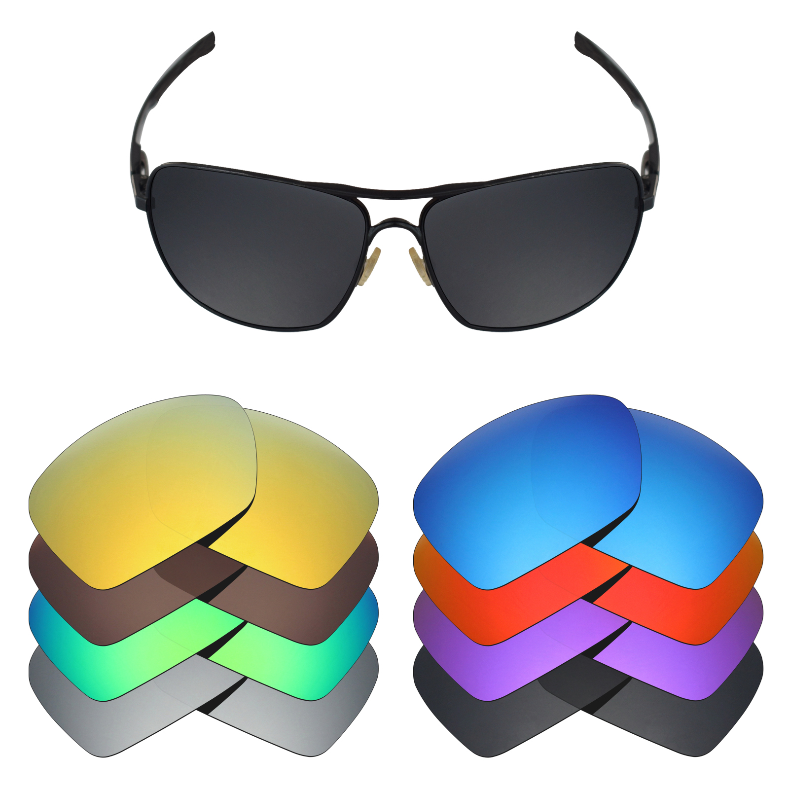24580fd7d Details about Mryok Anti-Scratch Polarized Replacement Lens for-Oakley  Plaintiff Squared - Opt