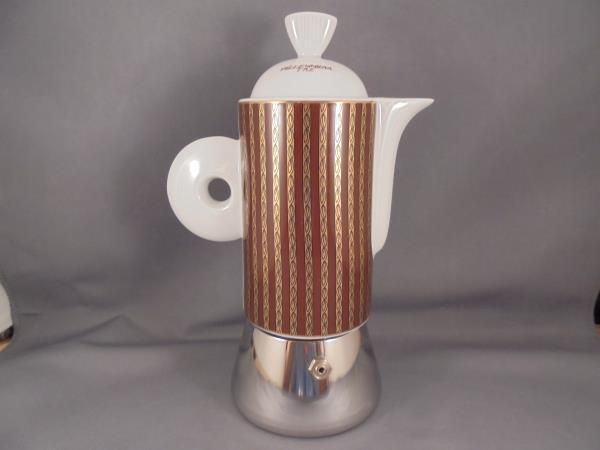 souvenirs porcelain and italian espresso maker Nuova point amalfi espresso cups are made in italy of the highest quality porcelain thick walled to help to retain heat dark caramel brown in color.