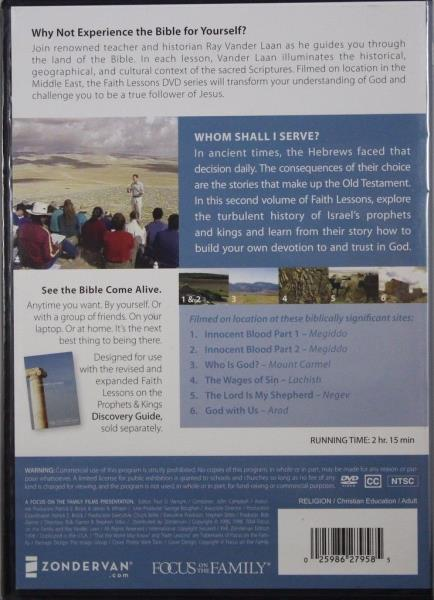 Details about Faith Lessons Volume 2 Prophets & Kings Ray Vander Laan NEW  Christian DVD