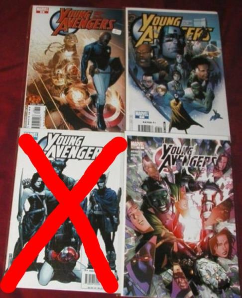 Young Avengers U-PICK ONE #2,3,4,5,7,8 or 11 PRICED PER COMIC