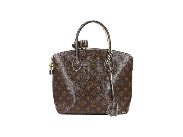 6d5420c520c2 Brown Louis Vuitton Monogram Shine Fetish Lockit Bag