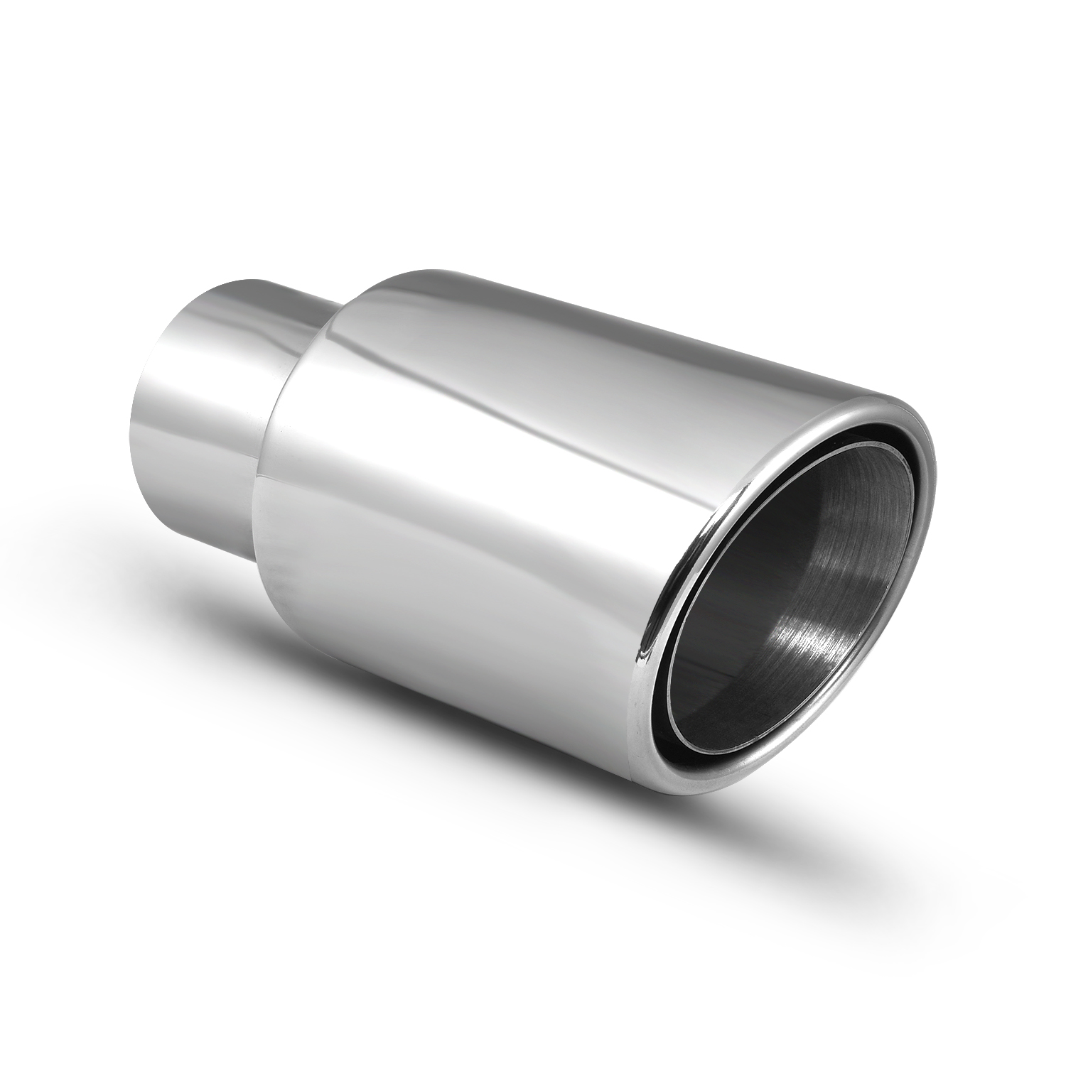 """304 Stainless Exhaust Header Transition Cone 2 1//4/"""" to 2 1//2/"""""""