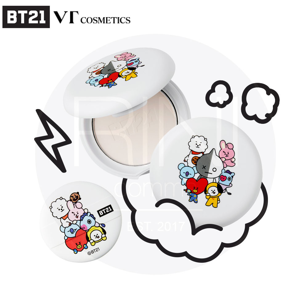 Details about BTS BT21 Official VT Cosmetics ART IN BLUR PACT 9g 0 3oz +  Tracking Number
