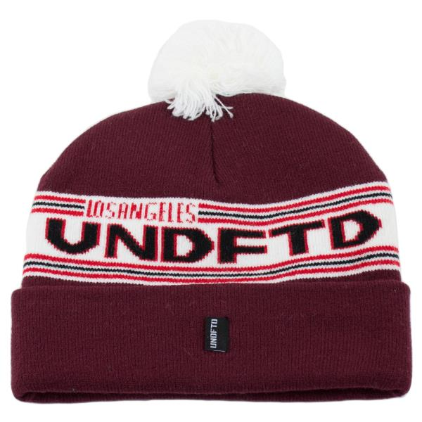 6f4979fe0 Details about NEW Men's Women's UNDEFEATED Pom Pom Beanie Burgundy (T88) $30