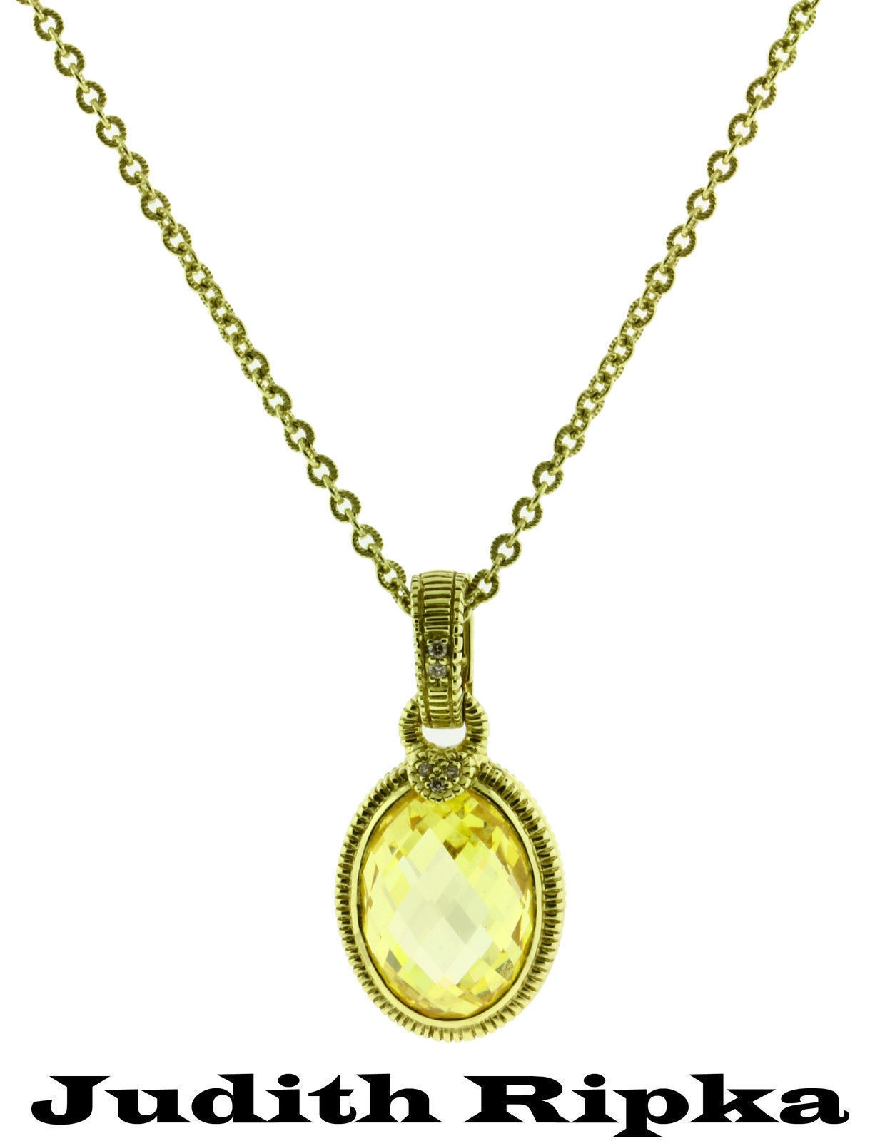 gold pendant jewelry necklaces sale diamond heart canary id and v quartz necklace more l for ripka judith